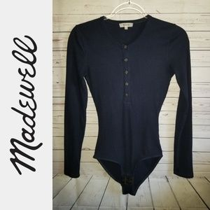 Madewell Ribbed Bodysuit | Size XS